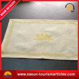 Roupa de mesa de tecido de mesa de algodão barato para cetim de marinha