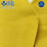 Gelber Mittler-Hülse V-Ausschnitt Bluse der reizvollen Frauen
