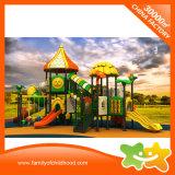 Pièces extérieures de glissière de matériel de cour de jeu de petit parc à thème