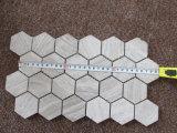 Плитка Fooring мозаики/плитка мозаики шестиугольника/плитка мозаики деревянного зерна серая