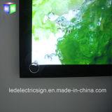 Caixas de luz de quadro de alumínio magnético ultra fino