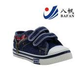 Fashion Denim Chaussures enfants supérieures avec fermeture à glissière Décoration Bf161052