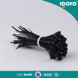 Serres-câble colorés blancs noirs du nylon 66 de GV d'aperçus gratuits