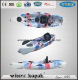 Kayak рыболовства одиночного PE Sot Не-Раздувной