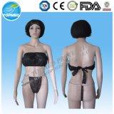 Bikini desechable, el conjunto de ropa interior desechable SPA