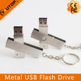 Mecanismo impulsor de encargo caliente de la pluma del USB del metal del eslabón giratorio de la insignia (YT-1208)
