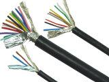 Le PVC de cuivre à plusieurs noyaux de conducteur a isolé le fil flexible engainé par PVC