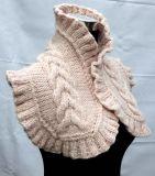 손에 의하여 뜨개질을 하는 스카프 숄을 중국제 주문하기 위하여 만드는