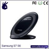 Duas bobinas jejuam carregador sem fio para o telefone móvel da borda da galáxia S7 de Samsung