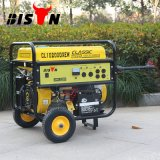 Gerador elétrico 15HP da gasolina do começo do bisonte (China) BS7500s (h) 6kw