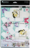 Exiqusite Foil Paper Craft Toppers Blooming Frames