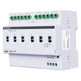 Unité de commande de l'automatisation 6fold 20A d'éclairage