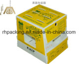 Cadre de Twinwall pp, carton en plastique, boîte à fruit de pp/cadre recyclable de pliage de cartons de fruit de Corflute de polypropylène avec l'impression