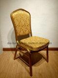 Золотистого венчания стула стулы задней части высоко для фабрики мебели гостиницы случая