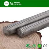 Ss304 Ss316 Barre de filetage à filetage en acier inoxydable (DIN975)