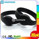 Wristband classico di ginnastica RFID del silicone 1K di MIFARE con i campioni liberi