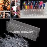 Titular do cartão de identificação de plástico acrílico claro