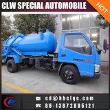 Jmc 3m3 4m3の下水道のタンク車の真空のトラック