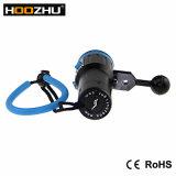 Hoozhu V13 fünf Lichter des Farben-helles Tauchens-video helle maximale Tauchens-3000lumnes