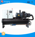 Cer zugelassene Schrauben-Wasser-Kühler-China-Fabrik der niedrigen Temperatur-300kw