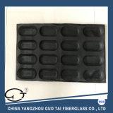 Non-Stick черное высокое качество 8 форма хлеба силикона 16 каналов