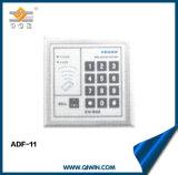 Карточка удостоверения личности и регулятор доступа пароля для автоматической двери