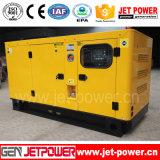 générateur silencieux de diesel de pouvoir de 125kVA 100kw