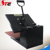 38*38cm 세륨 편평한 간단한 열 압박 기계 기계를 인쇄하는 수동 열전달 기계 t-셔츠 열전달