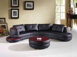 Sofá de sala de estar de sala de estar moderna com forma seccional L