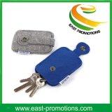 Fieltro promocional Keychain con Carbiner