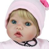 55cm Silikon-wieder geboren Baby - Puppe scherzt Spielkamerad-Geschenk für Mädchen