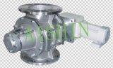 Válvula giratória (corrente da movimentação direta)