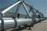 HDG-elektrischer Stahl Röhrenpole