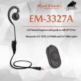Одиночный наушник наблюдения провода для Motorola Clp1010 Clp1040 Clp446
