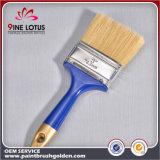 Alta calidad 50%PBT y cerda pura del 50% con el cepillo de pintura plástico de la maneta