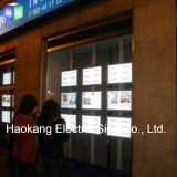 Casella chiara acrilica d'attaccatura della cornice del sistema LED del soffitto A4