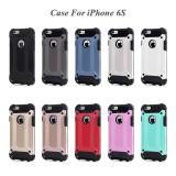 Гибридная трудная крышка случая телефона на iPhone 6 & 6plus