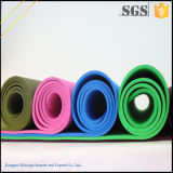 Couvre-tapis épais chaud de yoga de bande de la vente 6mm
