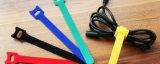 パッキング荷物のための環境に優しい着色された魔法のテープ・ケーブルのタイ