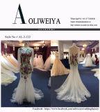 Nixe-Abend-Kleid für Wedding mit Appliques