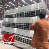 Lista de preço de aço galvanizada do feixe laminado a alta temperatura de H