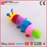 Les jouets en peluche doux colorés Animal Caterpillar