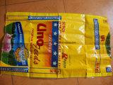 10kg 25kg 50kg 100kg pp. Säcke Lamianted BOPP Reis-Mehl-Zuckerzufuhr-Weizen-Beutel