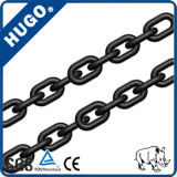 Ligas de aço de alta resistência à tracção 8mm G80 Corrente de elo preto