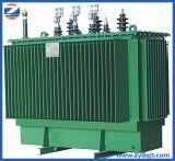 Transformateurs immergés dans l'huile triphasés de distribution montés par Pôle de courant électrique de la série S13