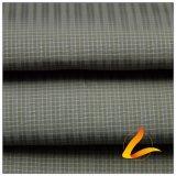água de 50d 280t & do Sportswear tela 100% tecida do filamento do poliéster do jacquard da manta do diamante para baixo revestimento ao ar livre Vento-Resistente (53115A)