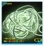 La máxima calidad 230V IP65 de luz LED Neon Flex para la decoración de Navidad
