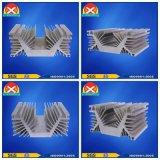 Контролируемый кремний прессовал алюминиевые теплоотводы профиля от фабрики Китая