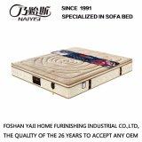 Sommier de compactage de tissu de qualité avec de la mousse élevée de résilience de latex normal pour les meubles de chambre à coucher, Fb739