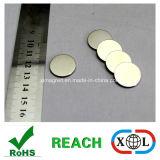 Platten-Neodym-Magnet mit Nickelplattierung